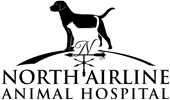 North Airline Animal Hospital Logo